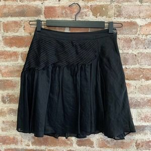 Leifsdottir Anthro Linen Silk Skirt